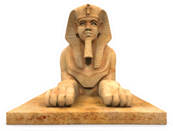 Egyptian Sphinx Statue Sticker