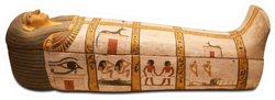 Egyptians Sarcophagus Sticker