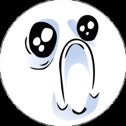 Emotional Internet Meme Face Sticker