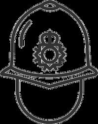 English Police Helmet Sticker