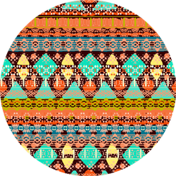 Ethnic Boho Seamless Pattern Sticker