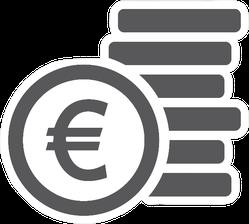 Euro Symbol Sticker