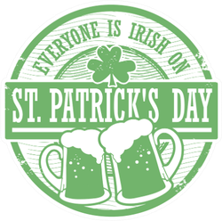 Everyone Is Irish on St. Patrick's Day Sticker