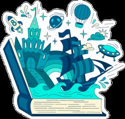 Fairy Tale Book Sticker