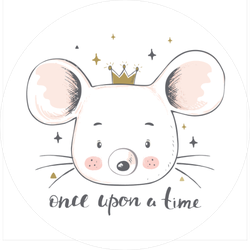 Fairy Tale Crown Sticker