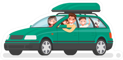 Family Road Trip Sticker