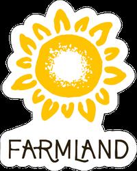 Farmland Sunflower Sticker