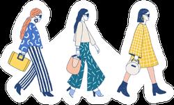 Fashion Show Runway Sticker