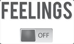 Feelings Off Meme Sticker