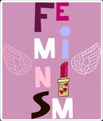 Feminism Letters Sticker