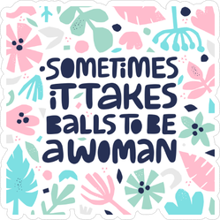 Feminist Quote Sticker