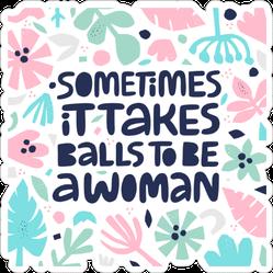 Feminist Quote Sticker