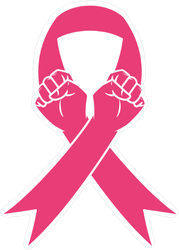 Fight Against Cancer Sticker
