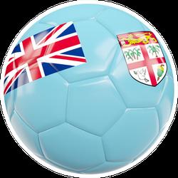 Fiji Football Sticker
