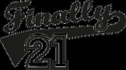 Finally 21th Birthday Sticker
