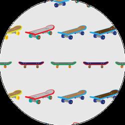 Fingerboard Simple Pattern Sticker