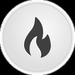 Fire App Icon Sticker