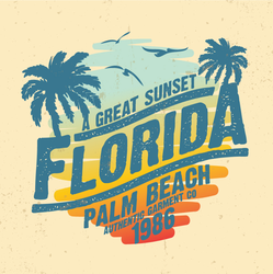 Florida Great Sunset Sticker