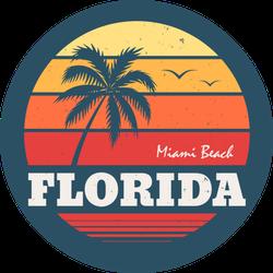 Florida Miami Beach Sticker