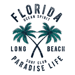 Florida Ocean Spirit Paradise Life Sticker