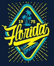 Florida Surf Division Sticker