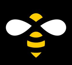 Flying Honey Bee Icon