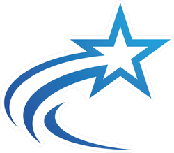 Flying Star Sticker