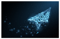 Follow Your Dreams Star Sticker