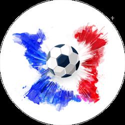 French Soccer Sticker