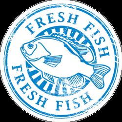 Fresh Fish Sticker