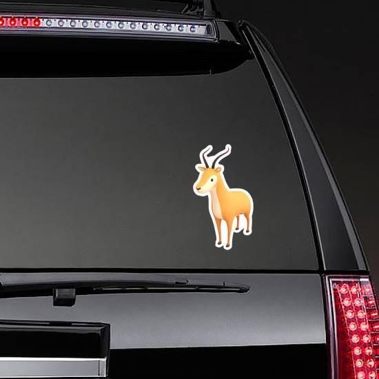 Cartoon Antelope Sticker