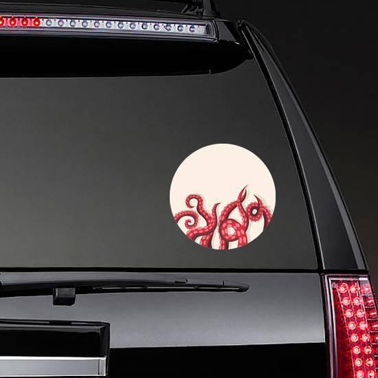 Tentacles Squid Underwater Marine Animal Sticker