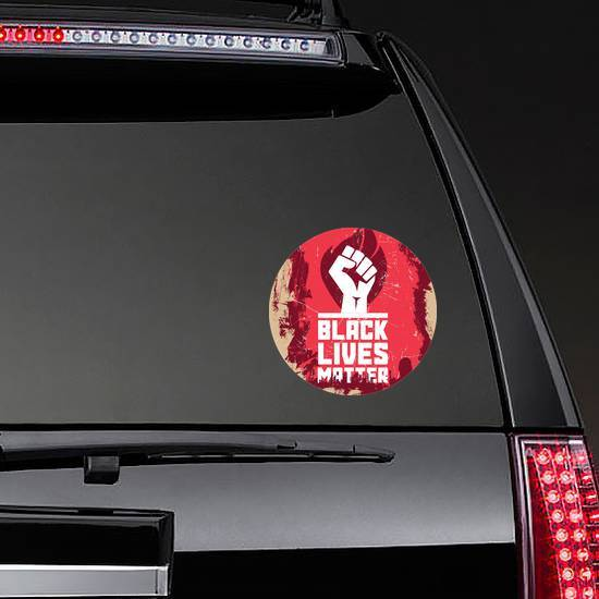 Poster About Human Rights Violation Of Black People Sticker example