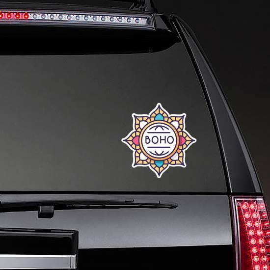 Boho Mandala Sticker