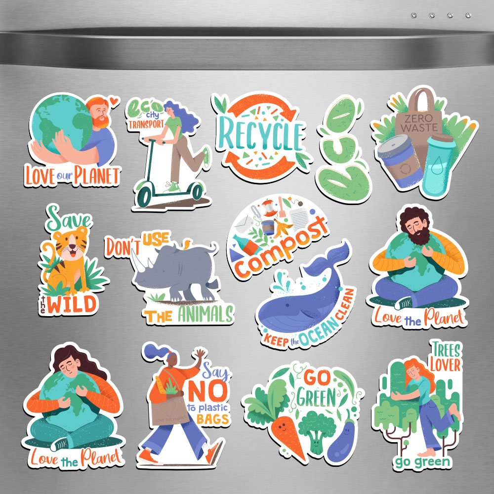 Earth Day Magnet Bundle example