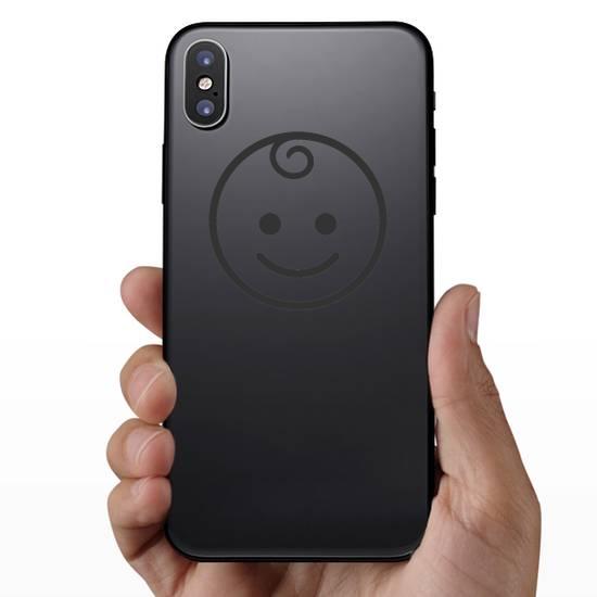 Baby Emoji Icon Sticker