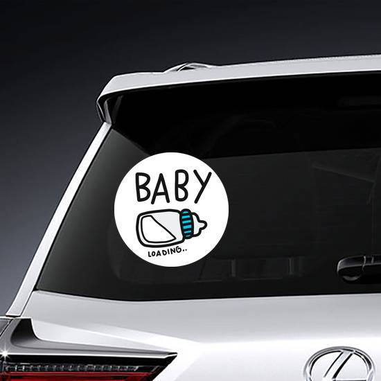 Baby Loading Sticker example