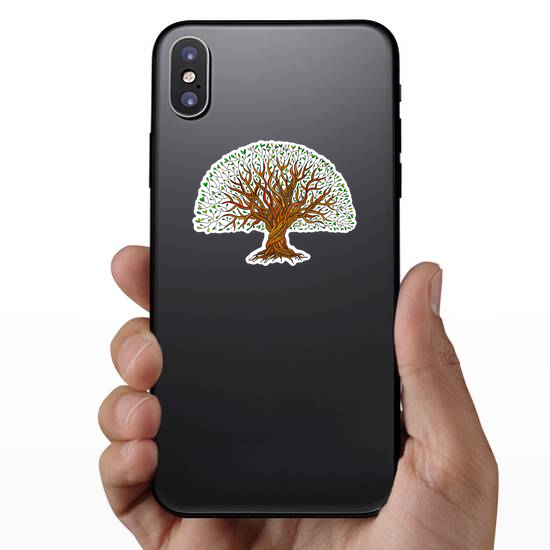 Big Tree With Roots Sticker