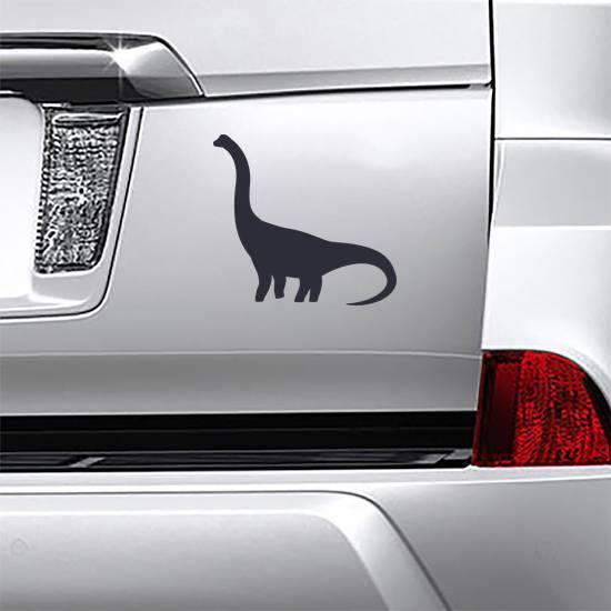 Brachiosaurus Silhouette Sticker