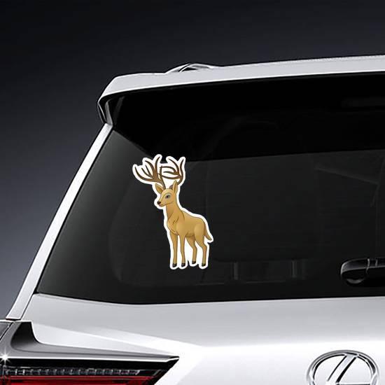 Cartoon Deer Sticker