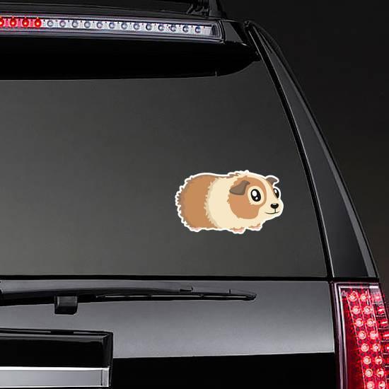 Character Hamster In Beige Sticker