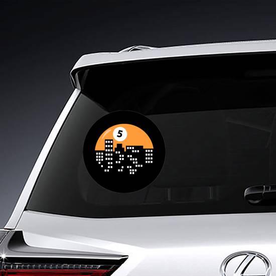 City Billiards Logo Sticker