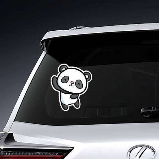 Cute Dancing Panda Sticker