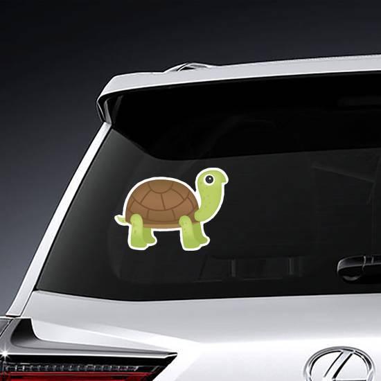 Cute Green Turtle Sticker