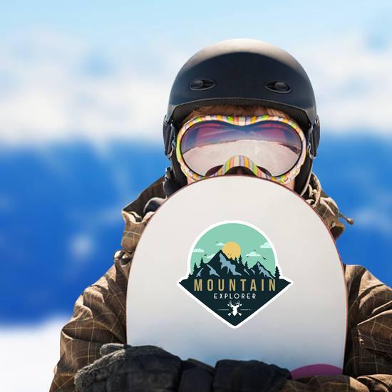 Deer Mountain Explorer Sticker