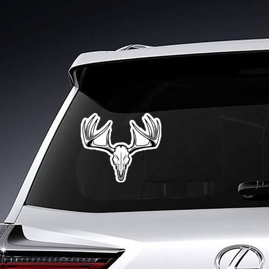 Deer Skull Vector Sticker