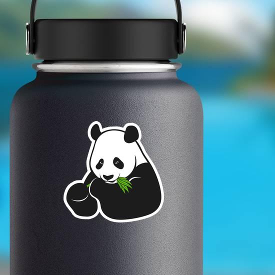 Eating Panda Sticker