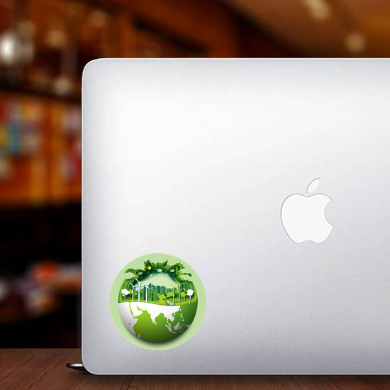Eco Friendly And Renewable Energy Sticker
