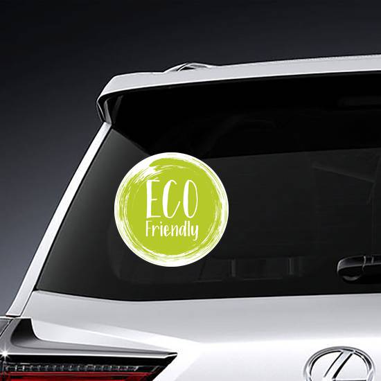 Eco Friendly Label Sticker example