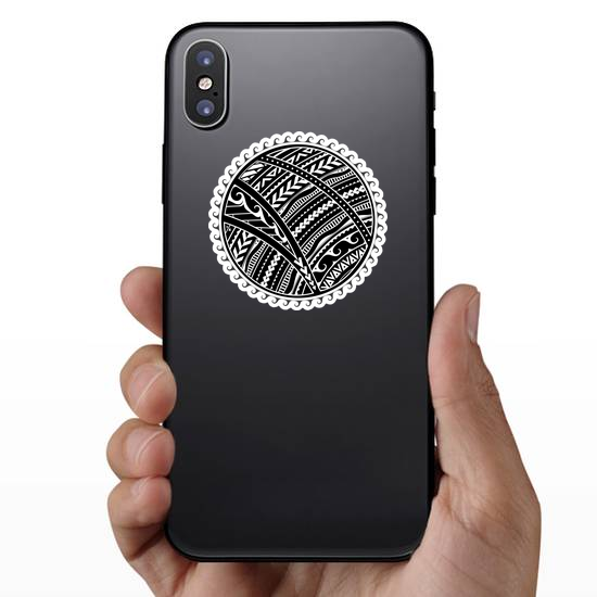 Ethnic Maori Style Tribal Sun Sticker